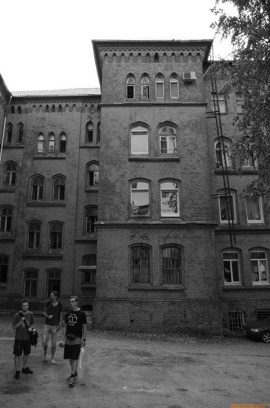 10 uliza Schmelnitzkowa 25 -  Hinterhof